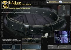 SAS Leather SF belt replica by TGC